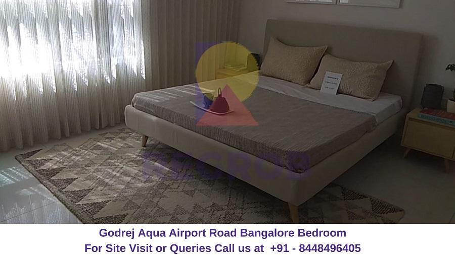 Godrej Aqua Airport Road Bangalore Bedroom