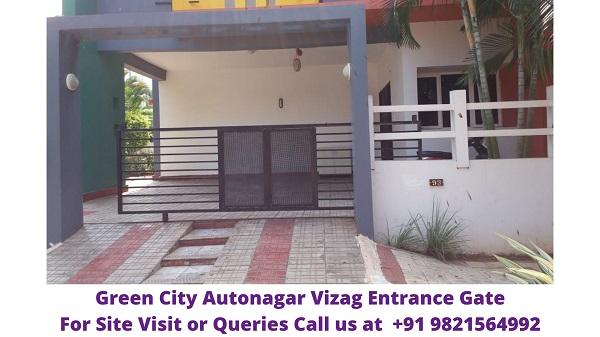Green City Autonagar Vizag Entrance Gate