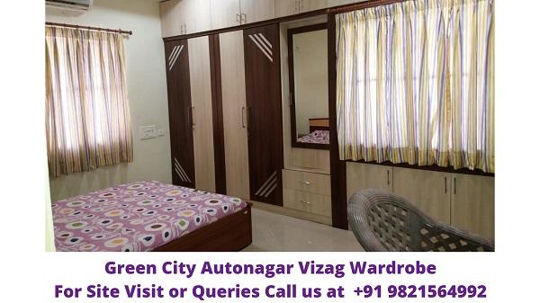 Green City Autonagar Vizag Wardrobe
