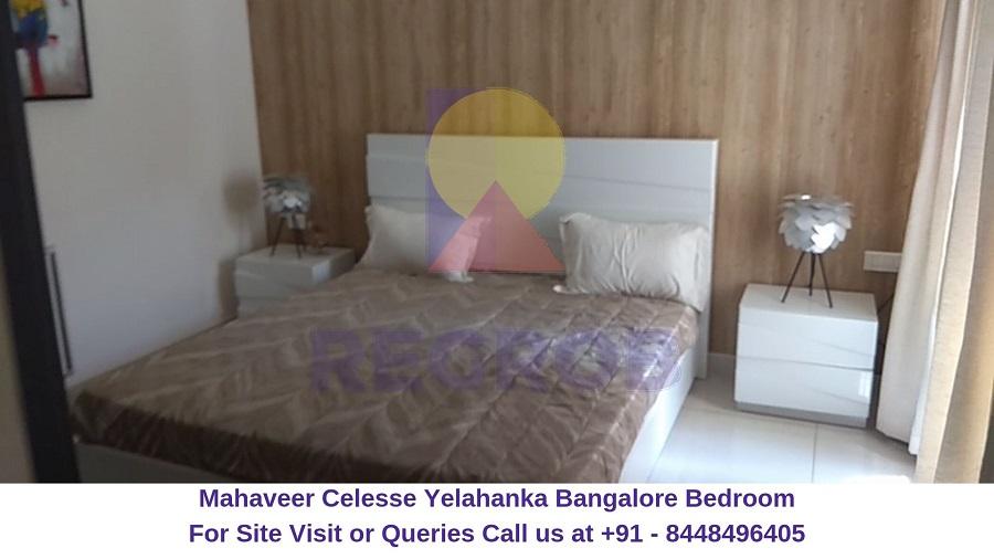 Mahaveer Celesse Yelahanka Bangalore Bedroom