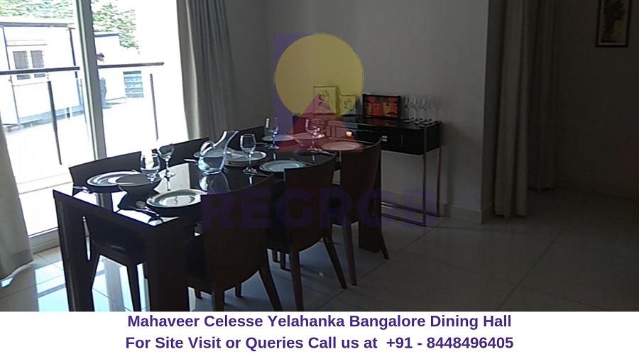 Mahaveer Celesse Yelahanka Bangalore Dining Hall