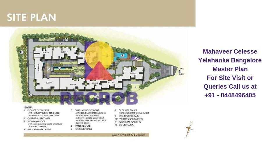 Mahaveer Celesse Yelahanka Bangalore Master Plan