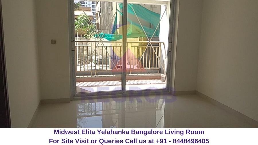 Midwest Elita Bagalur Cross Yelahanka Bangalore Living Room
