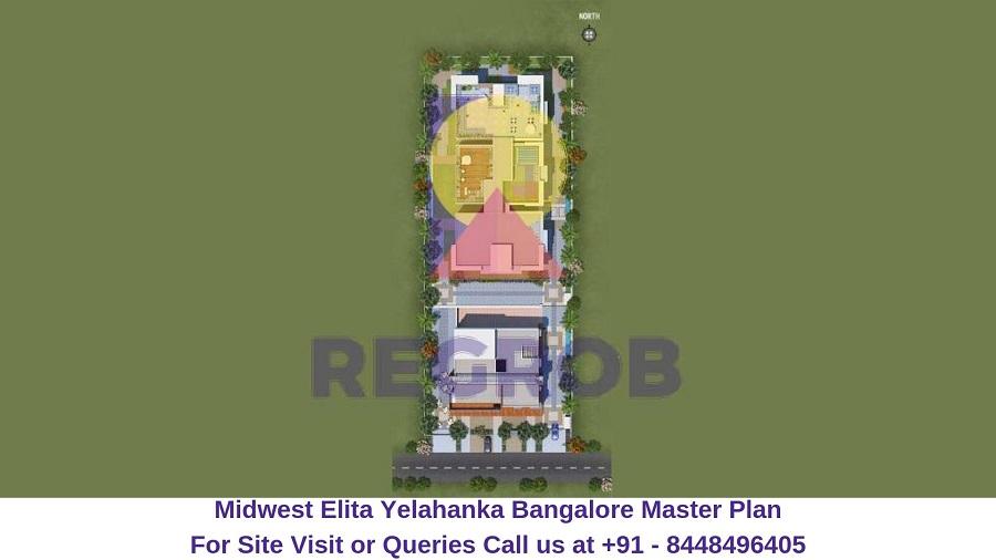 Midwest Elita Bagalur Cross Yelahanka Bangalore Master Plan