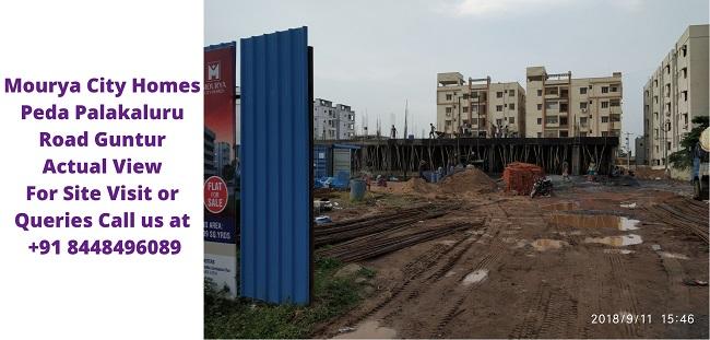 Mourya City Homes Peda Palakaluru Road Guntur Actual Image