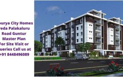 Mourya City Homes Peda Palakaluru Road Guntur Master Plan