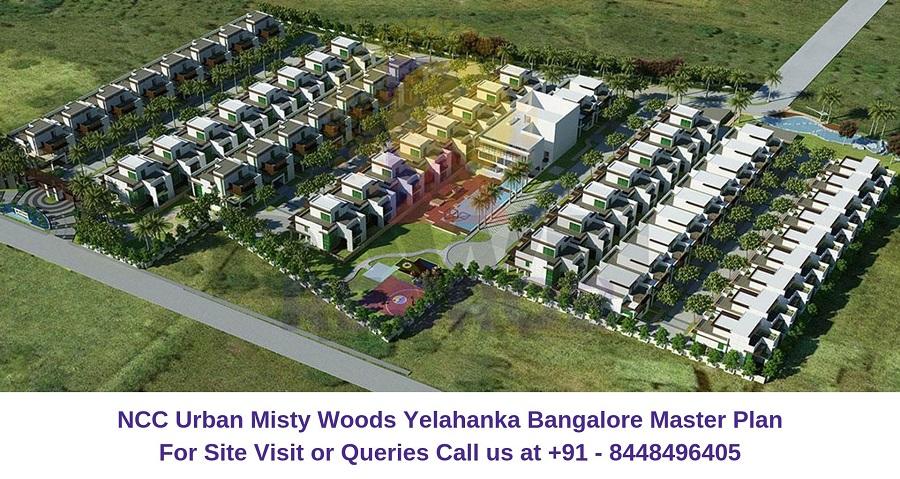 NCC Urban Misty Woods Yelahanka Bangalore Master Plan