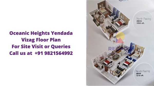 Oceanic Heights Yendada Vizag Floor Plan