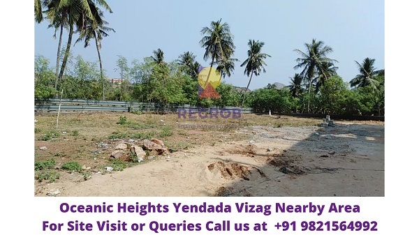 Oceanic Heights Yendada Vizag Nearby Area