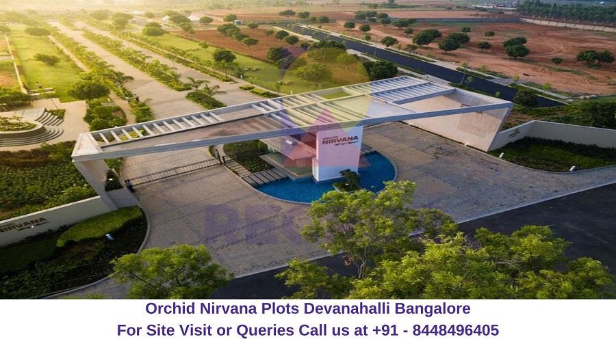 Orchid Nirvana Plots Devanahalli Bangalore Actual Image