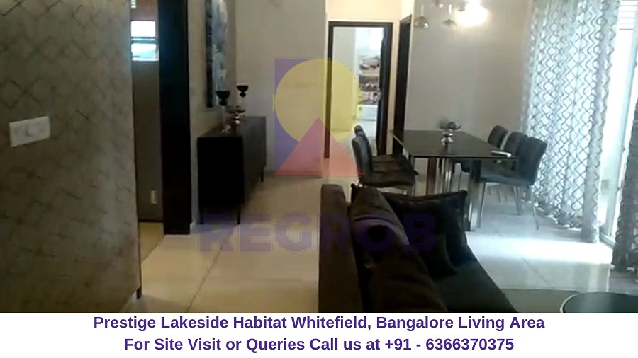 Prestige Lakeside Habitat Whitefield, Bangalore Living Area
