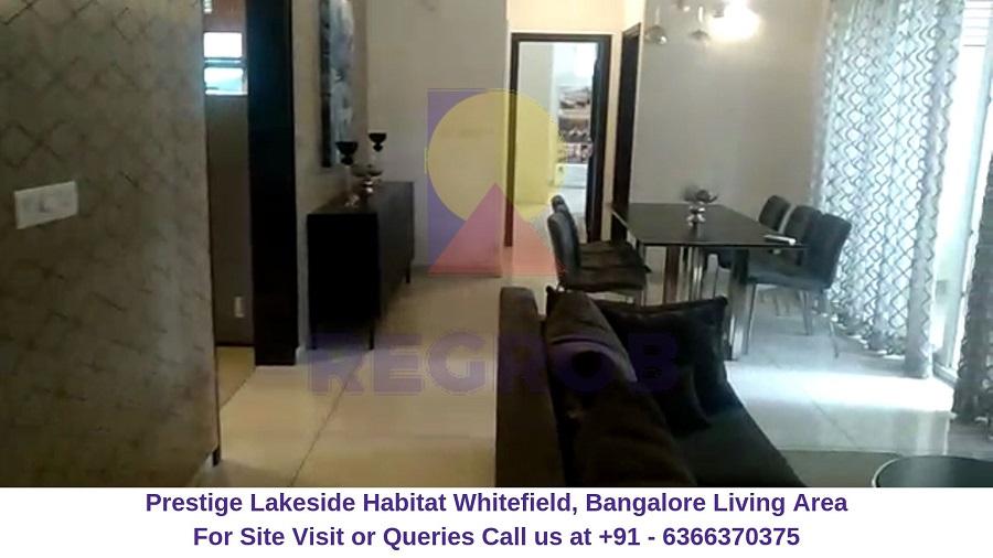 Prestige Lakeside Habitat Whitefield,Bangalore Living Area