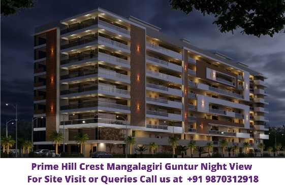 Prime Hill Crest Mangalagiri Guntur Night View