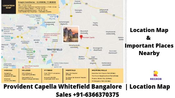 Provident Capella Location Map
