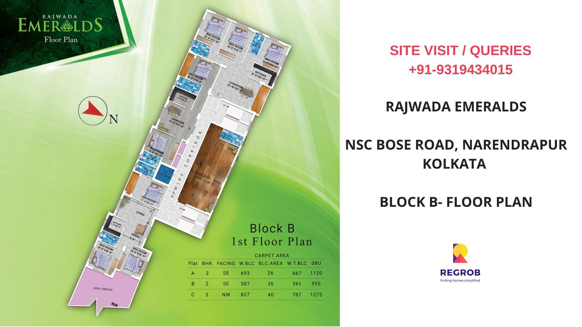 Rajwada Emeralds Narendrapur Kolkata