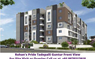 Rohans Pride Tadepalli Guntur Front View