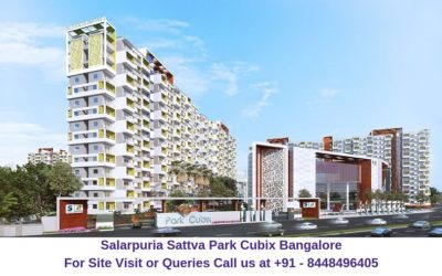 Salarpuria Sattva Park Cubix Devanahalli Bangalore