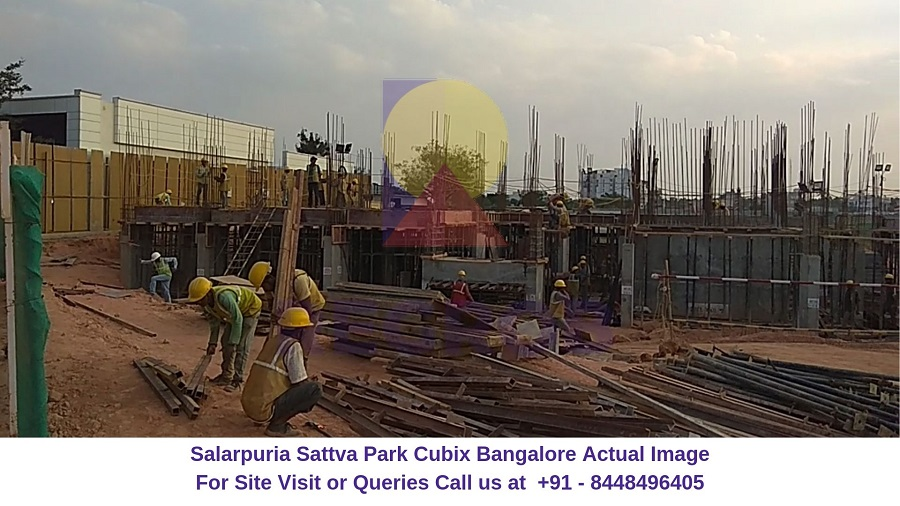 Salarpuria Sattva Park Cubix Devanahalli Bangalore Actual Image