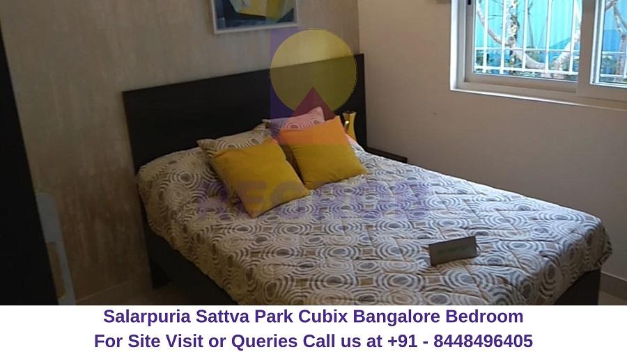 Salarpuria Sattva Park Cubix Devanahalli Bangalore Bedroom
