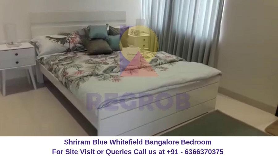 Shriram Blue Whitefield Bangalore Bedroom