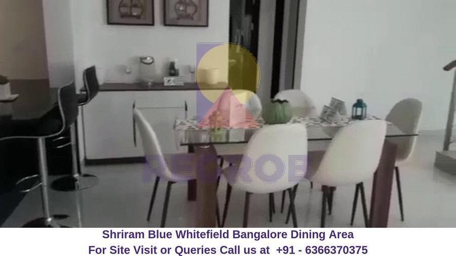 Shriram Blue Whitefield Bangalore Dining Hall