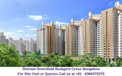 Shriram Greenfield Budigere Cross, Bangalore