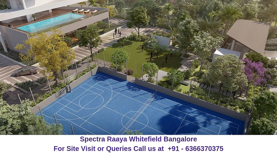 Spectra Raaya Whitefield Bangalore Amenities
