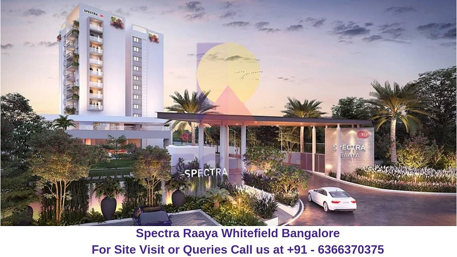 Spectra Raaya Whitefield Bangalore Entrance Gate