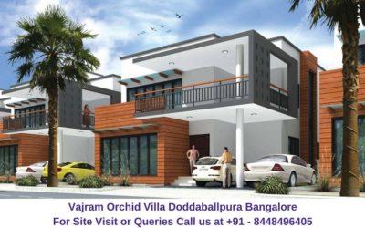 Vajram Orchid Villa Doddaballpura Road Bangalore