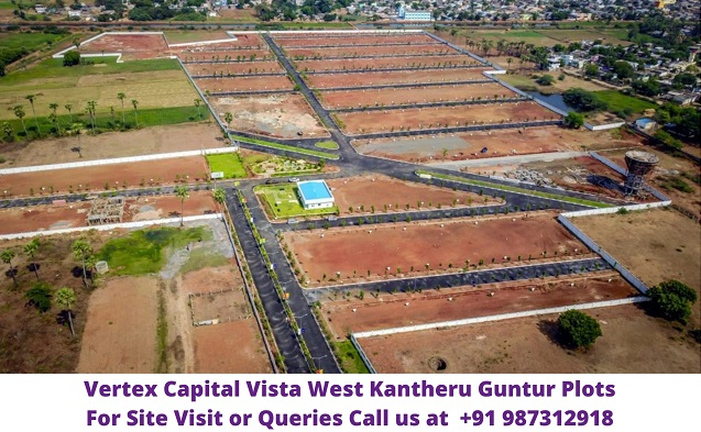 Vertex Capital Vista West Kantheru Guntur Plots For Sale
