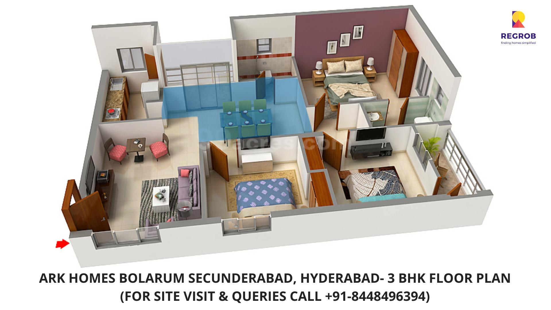 ARK Homes Bolarum, Secunderabad Hyderabad