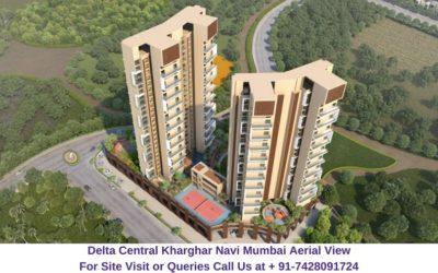 Balaji Delta Central Kharghar Navi Mumbai Aerial View