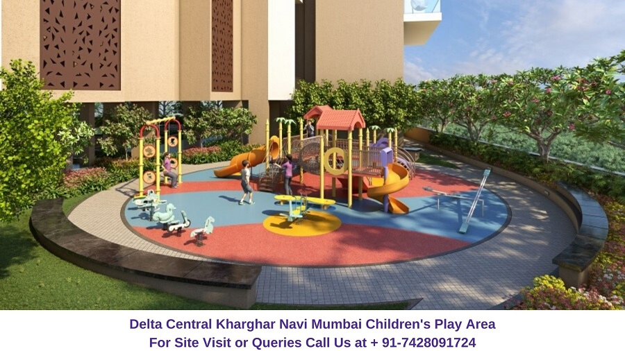 Balaji Delta Central Kharghar Navi Mumbai Children Play Area