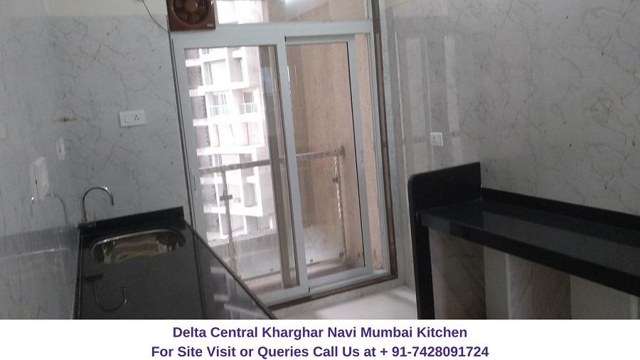 Balaji Delta Central Kharghar Navi Mumbai Kitchen