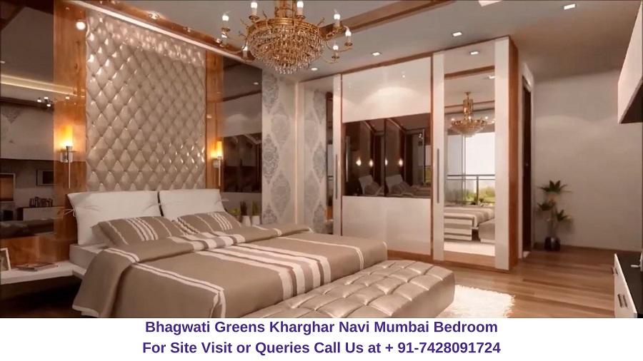 Bhagwati Greens Kharghar Navi Mumbai Bedroom