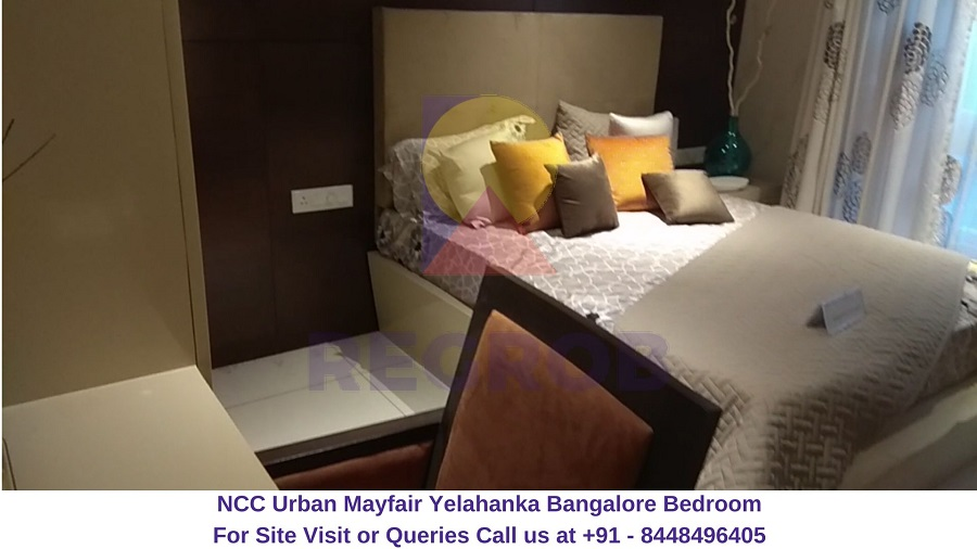 NCC Urban Mayfair Yelahanka Bangalore Bedroom