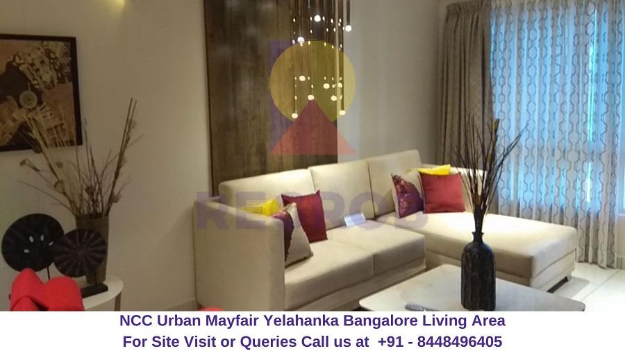 NCC Urban Mayfair Yelahanka Bangalore Living Area