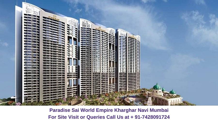 Paradise Sai World Empire Kharghar Navi Mumbai Elevation (1)