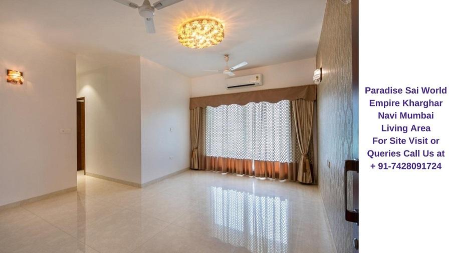 Paradise Sai World Empire Kharghar Navi Mumbai Living Area