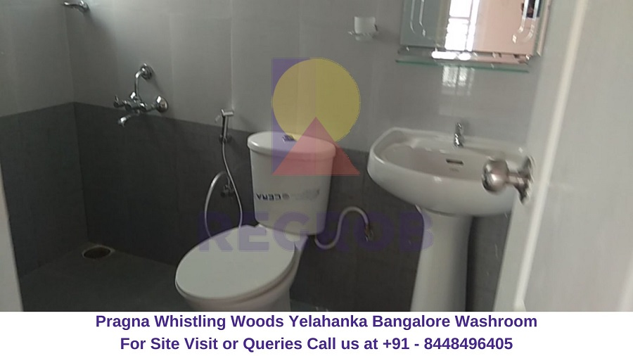 Pragna Whistling Woods Yelahanka Bangalore Washroom