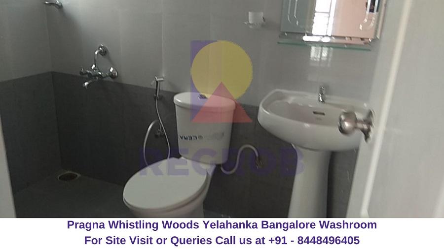 Pragna Whistling Woods Yelahanka Bangalore Washroom