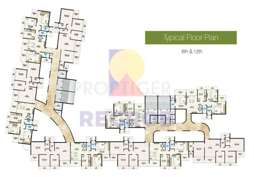 Sm Vision Ulwe Navi Mumbai Floor Plan Regrob