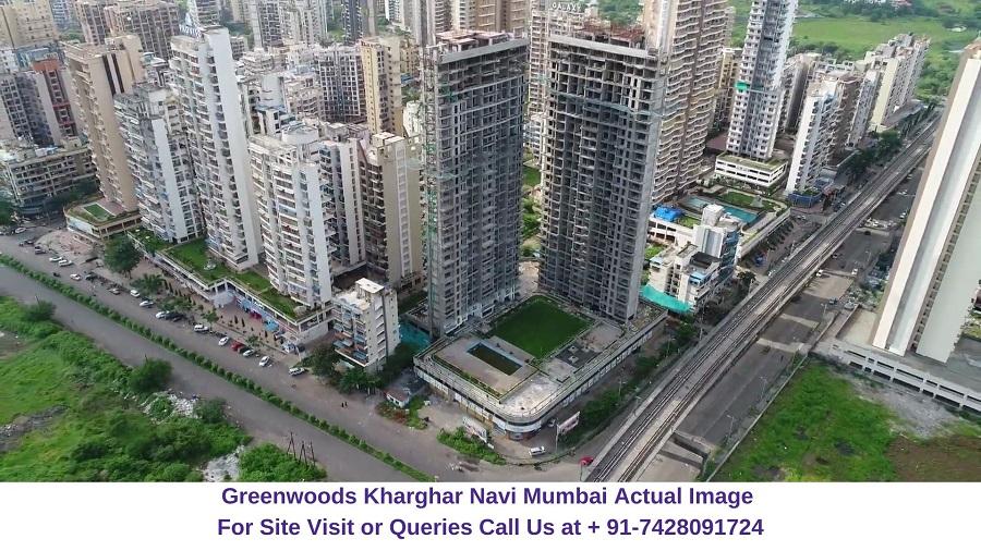 Sai Proviso Greenwoods Kharghar Navi Mumbai Actual Image