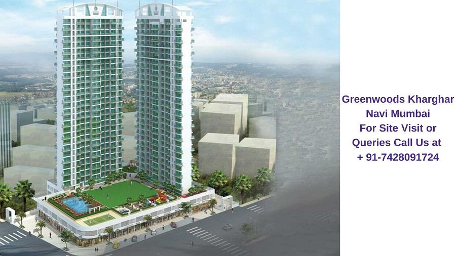 Sai Proviso Greenwoods Kharghar Navi Mumbai Elevation