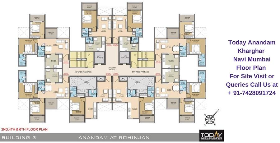 Today Anandam Kharghar Navi Mumbai Floor Plan (1)