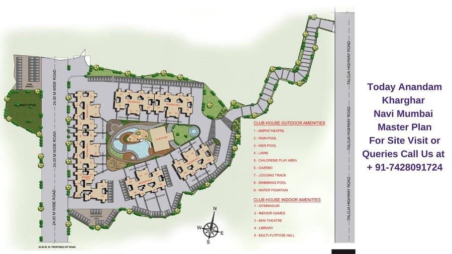Today Anandam Kharghar Navi Mumbai Master Plan