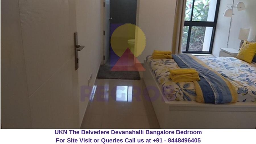 UKN The Belvedere Devanahalli Bangalore Bedroom