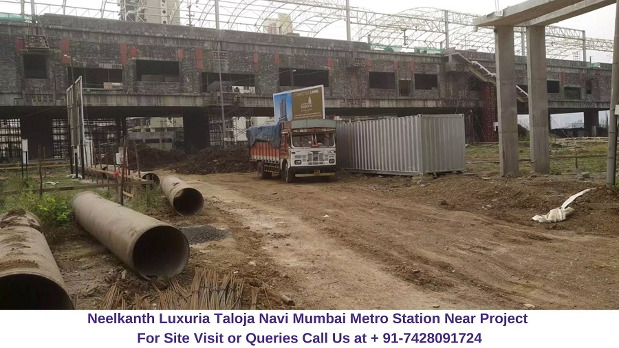 Neelkanth Luxuria Taloja Navi Mumbai Nearby Metro Station