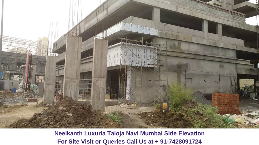 Neelkanth Luxuria Taloja Navi Mumbai Side Elevation