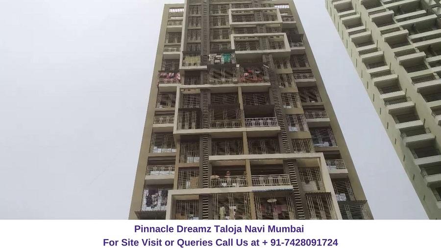 Pinnacle Dreamz Taloja Navi Mumbai Actual View of Project (2)